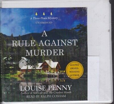 A RULE AGAINST MURDER by LOUISE PENNY ~UNABRIDGED CD AUDIOBOOK