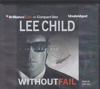 WITHOUT FAIL by LEE CHILD ~UNABRIDGED CD AUDIOBOOK