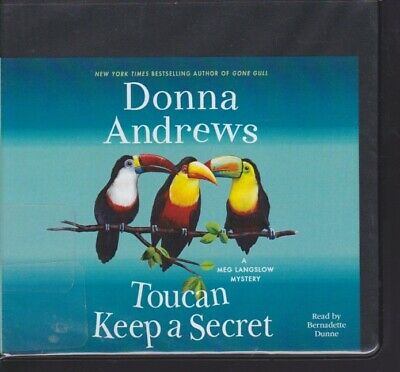 TOUCAN KEEP A SECRET by DONNA ANDREWS ~UNABRIDGED CD AUDIOBOOK