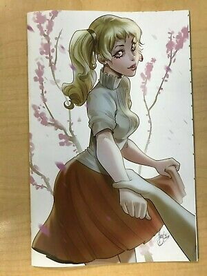 Heartbeat #1 Alive VIRGIN Variant Cover by Mirka Andolfo Only 100 Made!!!