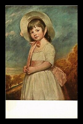 Dr Jim Stamps Us Miss Willoughby Portrait Romney Topical Postcard