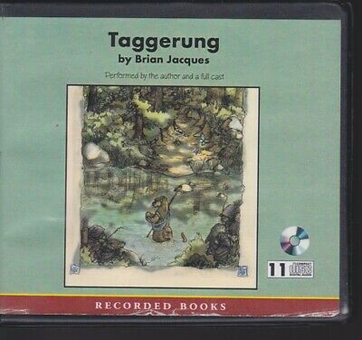 TAGGERUNG by BRIAN JACQUES~UNABRIDGED CD'S AUDIOBOOK