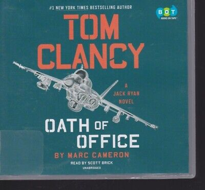OATH OF OFFICE by TOM CLANCY ~UNABRIDGED CD AUDIOBOOK