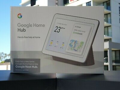 BRAND NEW Google Home Hub (Google Nest Hub) - Charcoal Black Color
