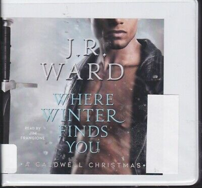 WHERE WINTER FINDS YOU by J.R. WARD ~ UNABRIDGED CD AUDIOBOOK