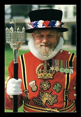 Dr Jim Stamps Beefeaters Tower Of London United Kingdom Continental Postcard