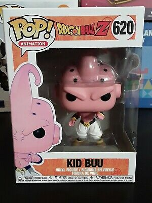 Funko Pop Dragon Ball Z Kid Buu # 620 Free Protector