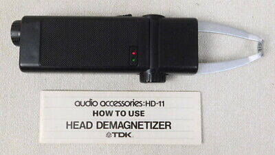 TDK Tape Recorder Head Demagnetizer Audio Accessory