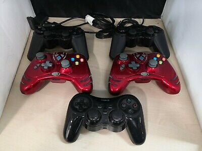 5 x Unofficial Game Controllers PS2 PS3 XBOX 360 #8A
