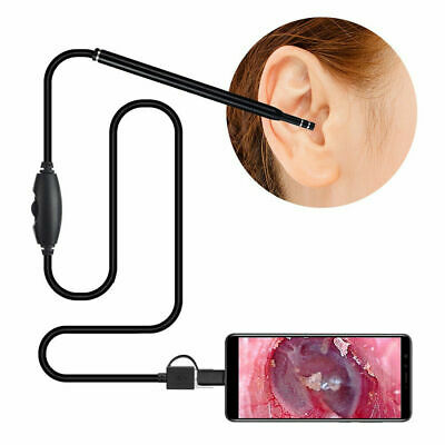 6LED Ear Cleaning Endoscope Borescope Ear Inspection Camera Ear Wax Remover Tool