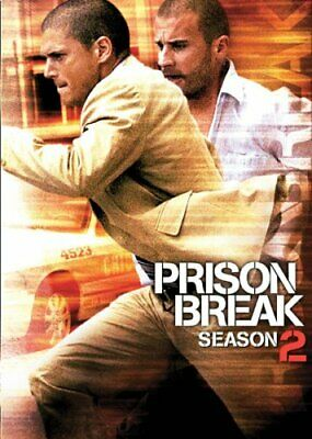 Prison Break Season 2 - Wentworth Miller, Dominic Purcell  Reg 1