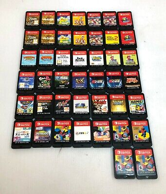 Lot of 187 Non-US Games For Nintendo Switch, DS, 3DS, GBA, & PS Vita READ! 09-4F