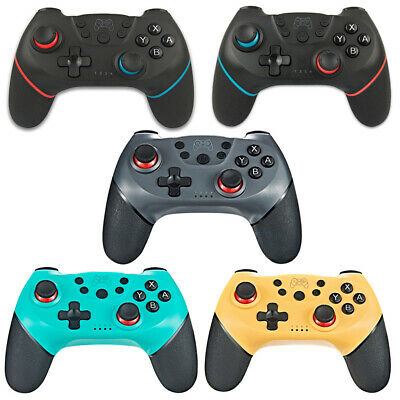 Wireless Bluetooth Gamepad Joystick Pro Controller for Nintendo Switch 5 COLORS