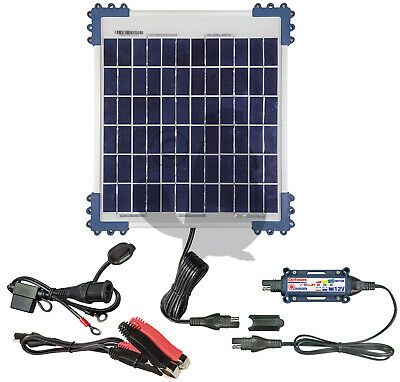 Optimate 10w Solar Panel Charger for 12V Batteries 0.83A