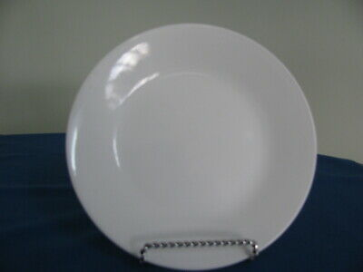 """Set Of 6 Corelle Winter Frost White Luncheon Plates 8-1/2"""""""