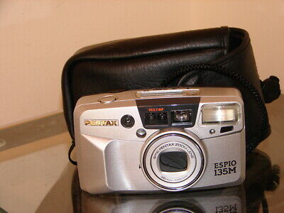 Collectable Pentax Espio 135M Camera & Case - Quality Camera At A Bargain Price!