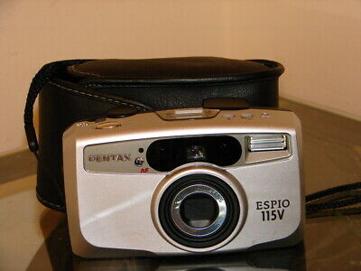 Collectable Pentax Espio 115V Camera & Case - Quality Camera At A Bargain Price!