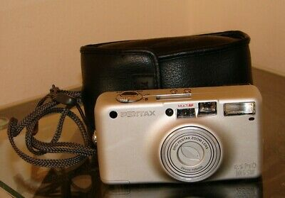 Collectable Pentax Espio 105SW Camera & Case - Quality Camera At A Bargain Price