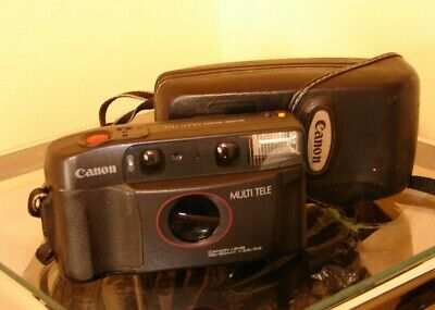 Collectable Canon Sure Shot Camera & Case - Quality Camera At A Bargain Price