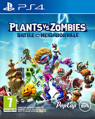 Plants vs. Zombies: Battle for Neighborville (PlayStation 4, 2019) Played Once