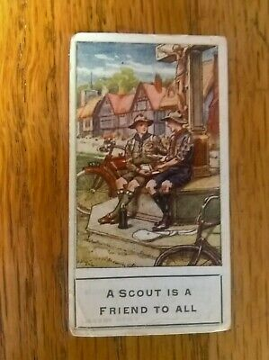 F10 CARDS BADEN POWELL SCOUTS FAMOUS CRICKET SERIES BOYS MAGAZINE-FULL SET