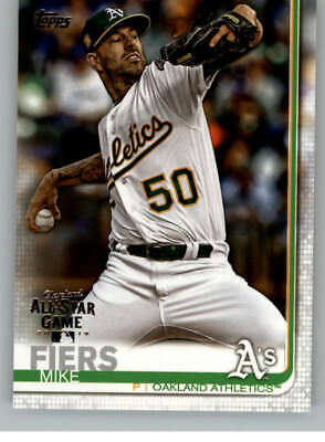 2019 Topps All-Star Edition #413 Mike Fiers Oakland Athletics