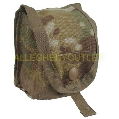 US Military Single Hand Grenade Pouch, Army OCP / Multicam MOLLE II Pouch NEW