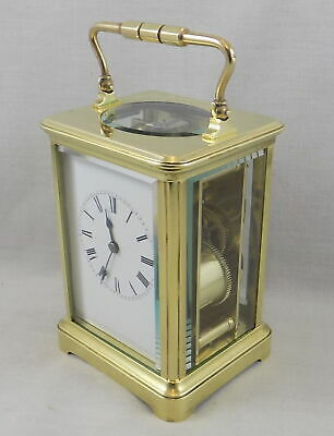 Excellent Antique French 8 Day Striking Carriage Clock - Fully Serviced