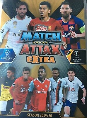 UEFA Champions League 2019-2020. Match Attax Extra. UK Edition (Topps). 1/2