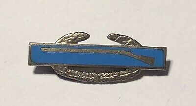 WW2 US Army CIB Combat Infantry Badge Pin - Sterling