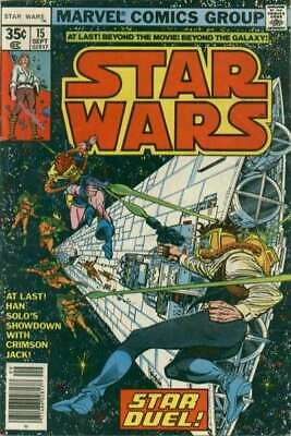 Star Wars (1977 series) #15 in Very Fine + condition. Marvel comics [*dw]