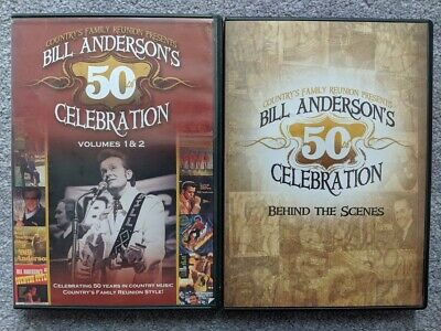 Country's Family Reunion Bill Anderson's 50th Celebration Vol 1 2 Behind Scenes
