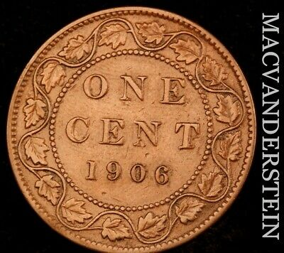Canada: 1906 One Large Cent - Scarce  Better Date  #NR4719