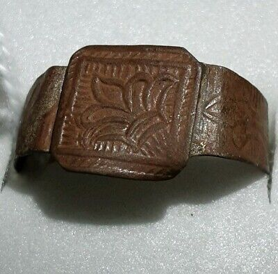 Late Or Post Medieval Old European Ring.