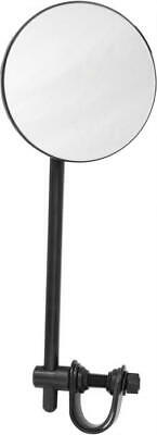 "BLACK 4/""  ROUND MIRROR RIGHT SIDE  HARDDRIVE 651839"