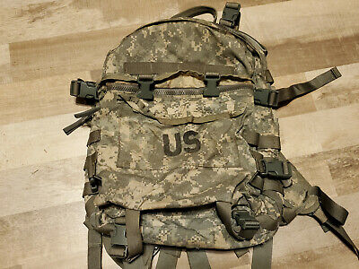 US ARMY Military ACU ASSAULT Back-PACK  3-Day MOLLE Rucksack with Stiffener camo