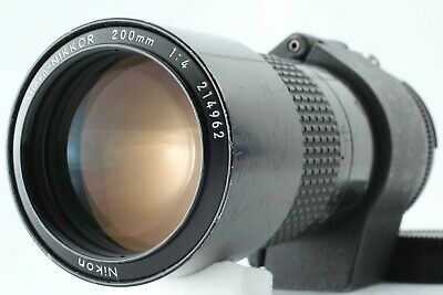 【OPTICAL MINT】NIKON AIS MICRO-NIKKOR 200mm F/4 AI-S Lens From Japan #255