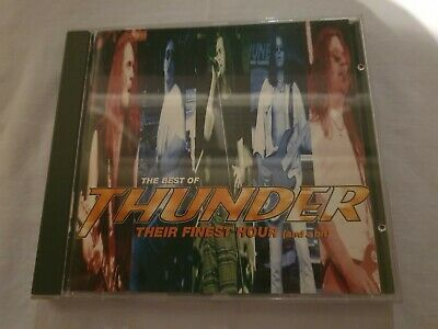 Thunder Their Finest Hour  *Promo Copy*  Mint Original 1994 Cd