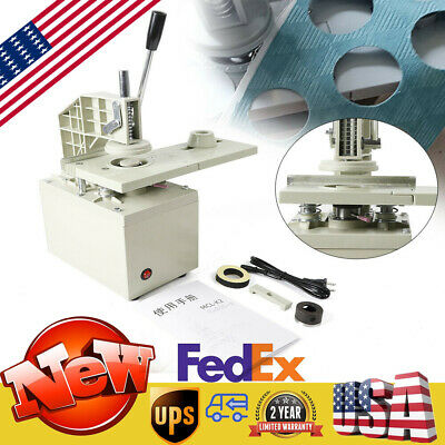 "300W Hole Puncher 3/16"" Eyelet Hole Punching Machine for Curtain with 40Mm Blade"