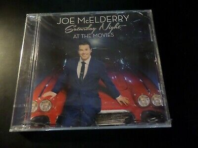 CD ALBUM - JOE McELDERRY - SATURDAY NIGHT AT THE MOVIES - NEW AND SEALED