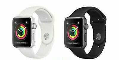 Apple Watch Series 3 GPS Various Colours with Sports Band A1858 - 38 mm