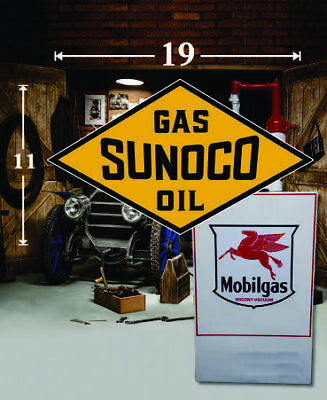 "1 19/"" x 14.5/"" SINCLAIR Shield Gas Vinyl Decal Lubester Oil Pump Can Lubster"
