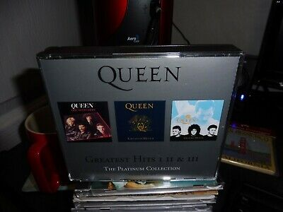 Queen - Greatest Hits 1 11 & 111 The Platinum Collection 3 Cd Set Fat Box