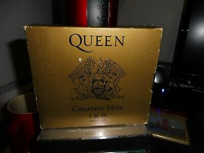 Queen - Greatest Hits I & Ii Cd Set Fat Box 1994