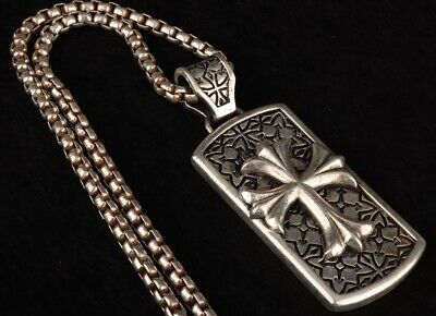 Unique China Tibet Silver Necklace Fashion Handicraft Decorative Gift Collec