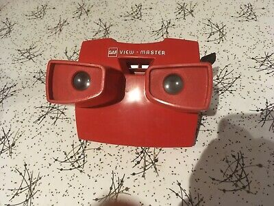 Vintage Retro Toy Red Plastic Viewmaster NO DISCS
