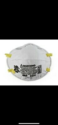 3M 8210V N95 Particulate Respirator Mask W/Exhalation Valve - 1 Box Of 10 MASKS!