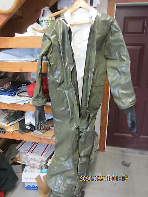 DuPont Tychem LV Fabric Coveralls w/Boots Gloves Large By Geomet