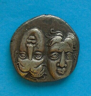 Thrace, Scarce Ancient Greek Silver Coin STATER Istros