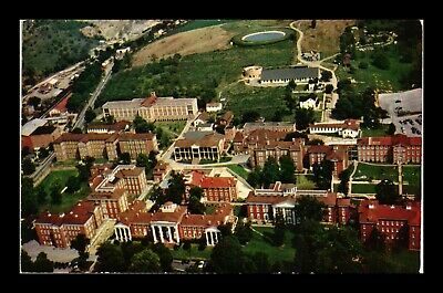 Dr Jim Stamps Us Aerial View Western State Hospital Postcard Staunton Virginia